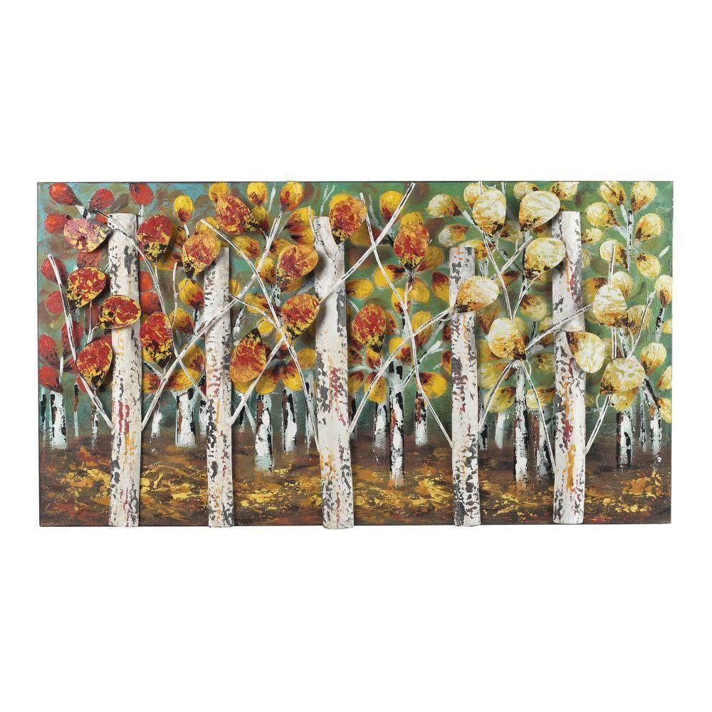 Sterling Industries Autumn Birch-Autumn Birch Metal Wall Decor $238.00  We Got Lites