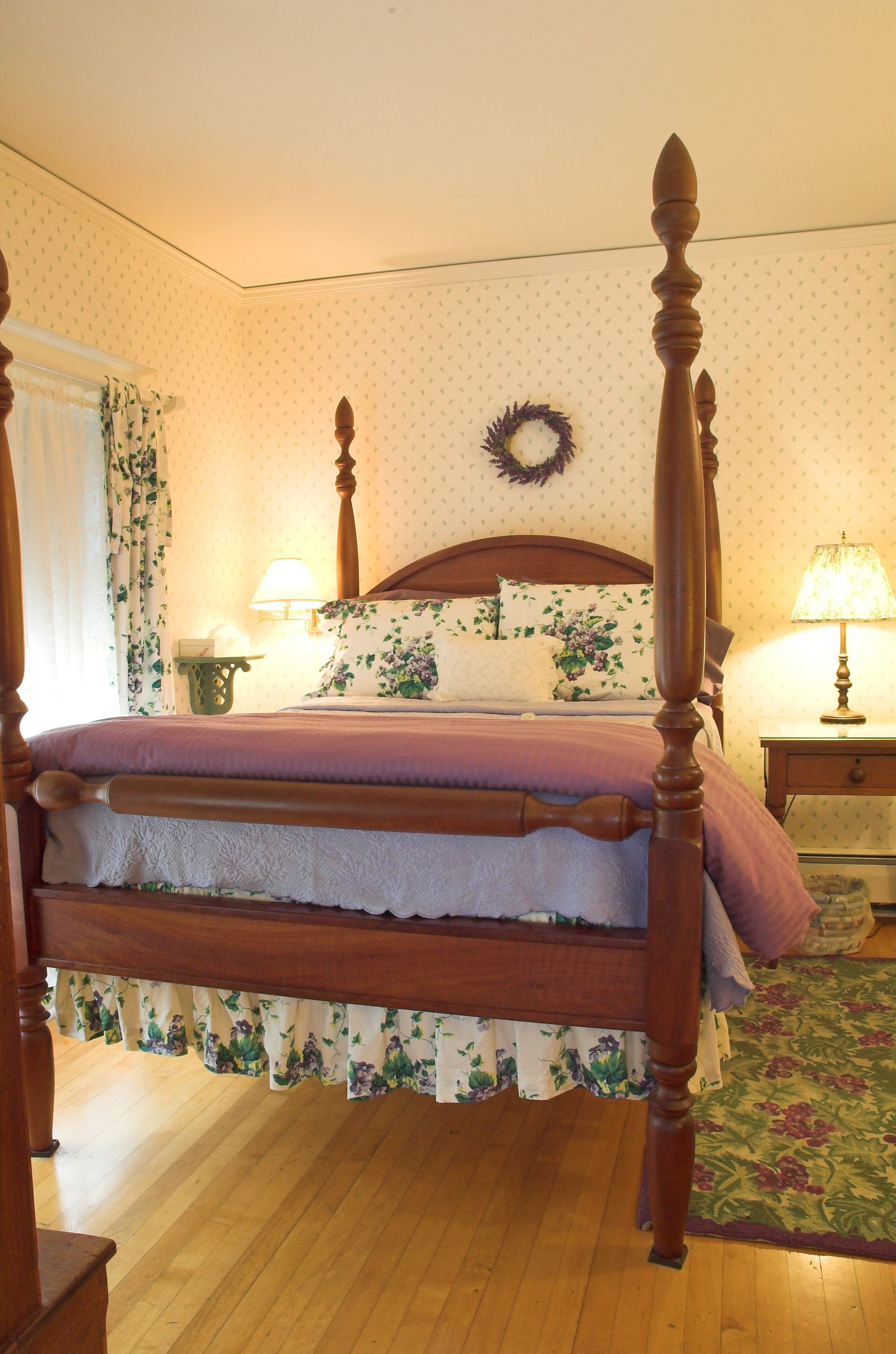 Guest Room 3 Main House Enter A Country Fresh World Of Lavender
