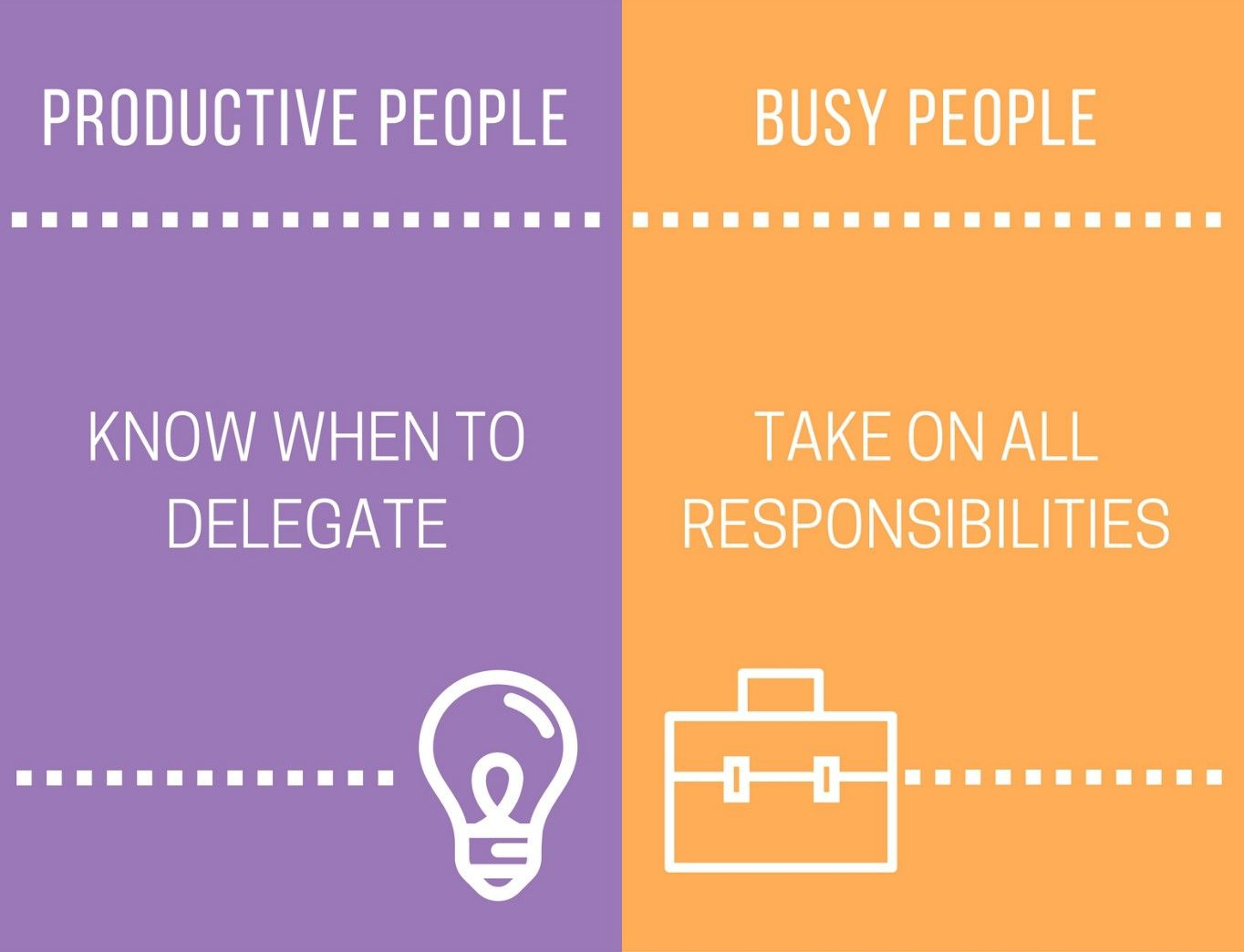 15 Essential Differences Between Productive People And Busy People