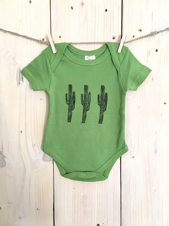 7abe24db6 Newborn baby cactus onesie organic baby boy onesie baby girl onesie ...