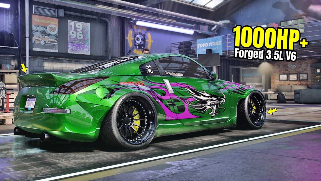 Need for Speed Heat Gameplay 1000HP+ NISSAN 350Z