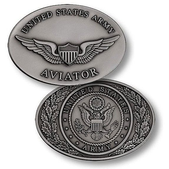 US Army Aviator Challenge Coin
