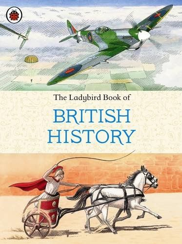 The Ladybird Book Of British History Amazon Co Uk Tim Wood Books Ladybird Books British History Books