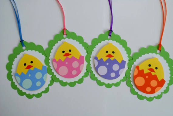 Jumbo easter egg gift tag set die cut easter favor tag set jumbo easter egg gift tag set die cut easter favor tag set easter chick negle Image collections