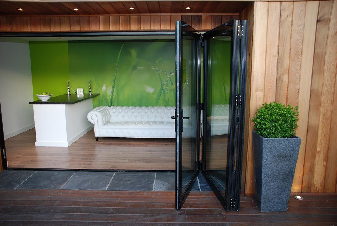 Only the highest quality powder coated aluminium bi-folding doors ...