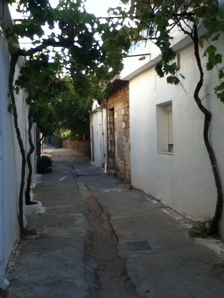 Greek Alleyway
