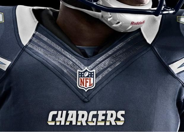 """Nike's """"flywire"""" collar on (almost) all the new NFL jerseys..."""