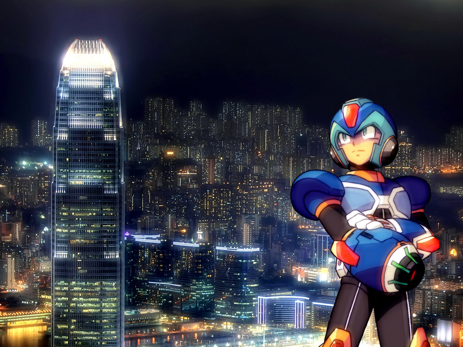 Free Download Megaman X HD Wallpaper For PC Computer