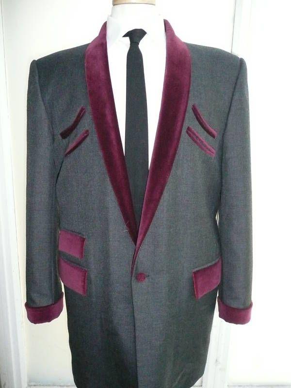67d4d56718e9 New teddy boy drape jacket let it rock and roll   Costume ...