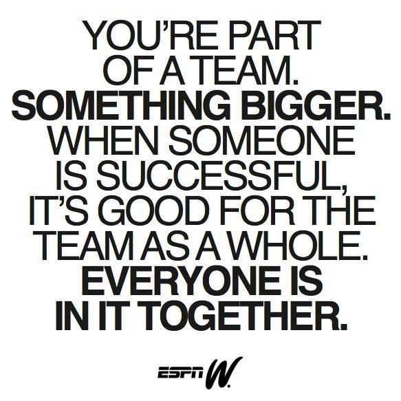 Inspirational Athletic Quotes Inspirational Team Quote  Cheer  Pinterest  Inspirational Team .