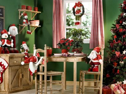 Decoración navideña para tu casa Decoración navideña, El punto y - decoraciones navideas para el hogar