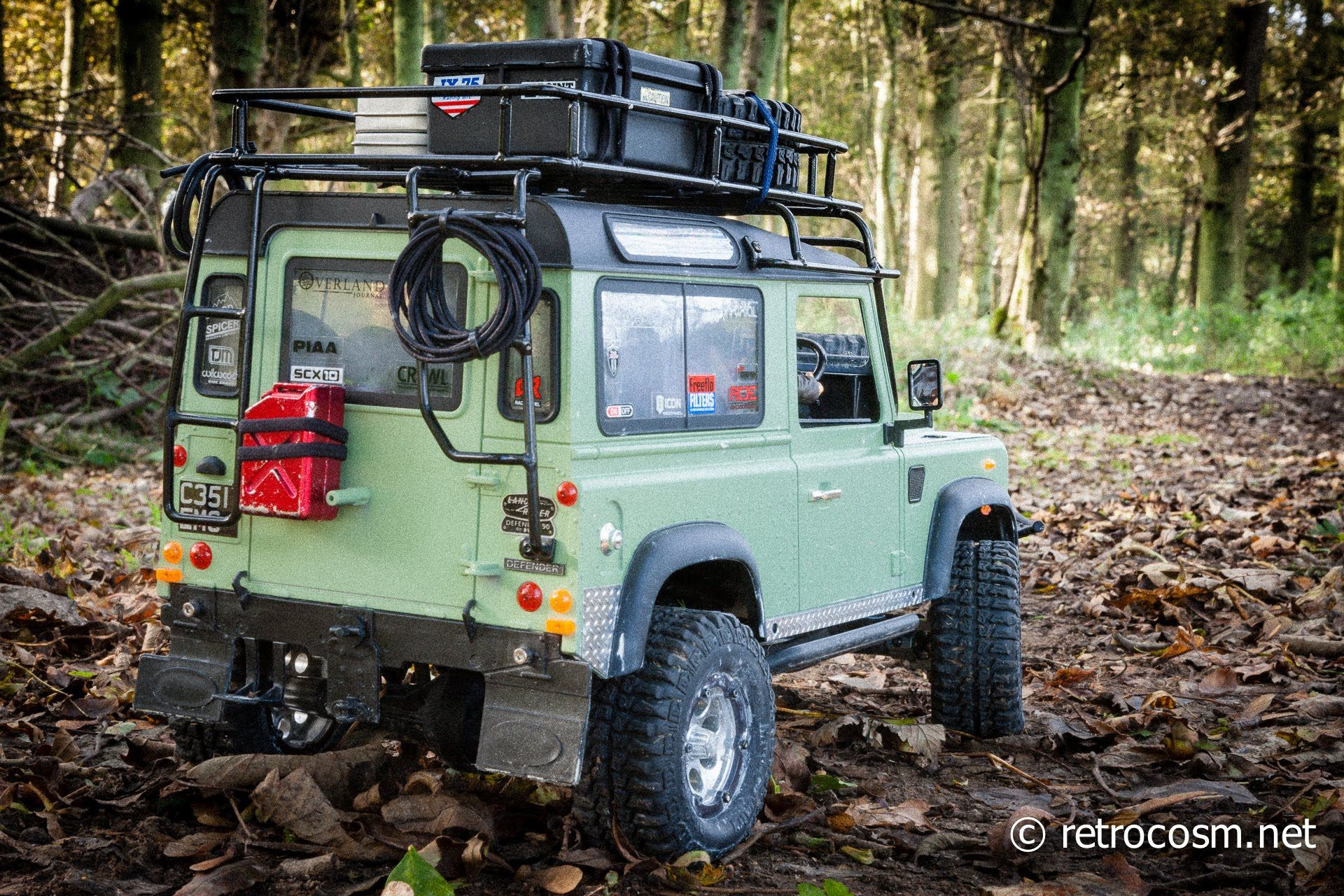 Axial SCX10 RC4WD Scale Defender D90 Land Rover | Scratch Built RC ...