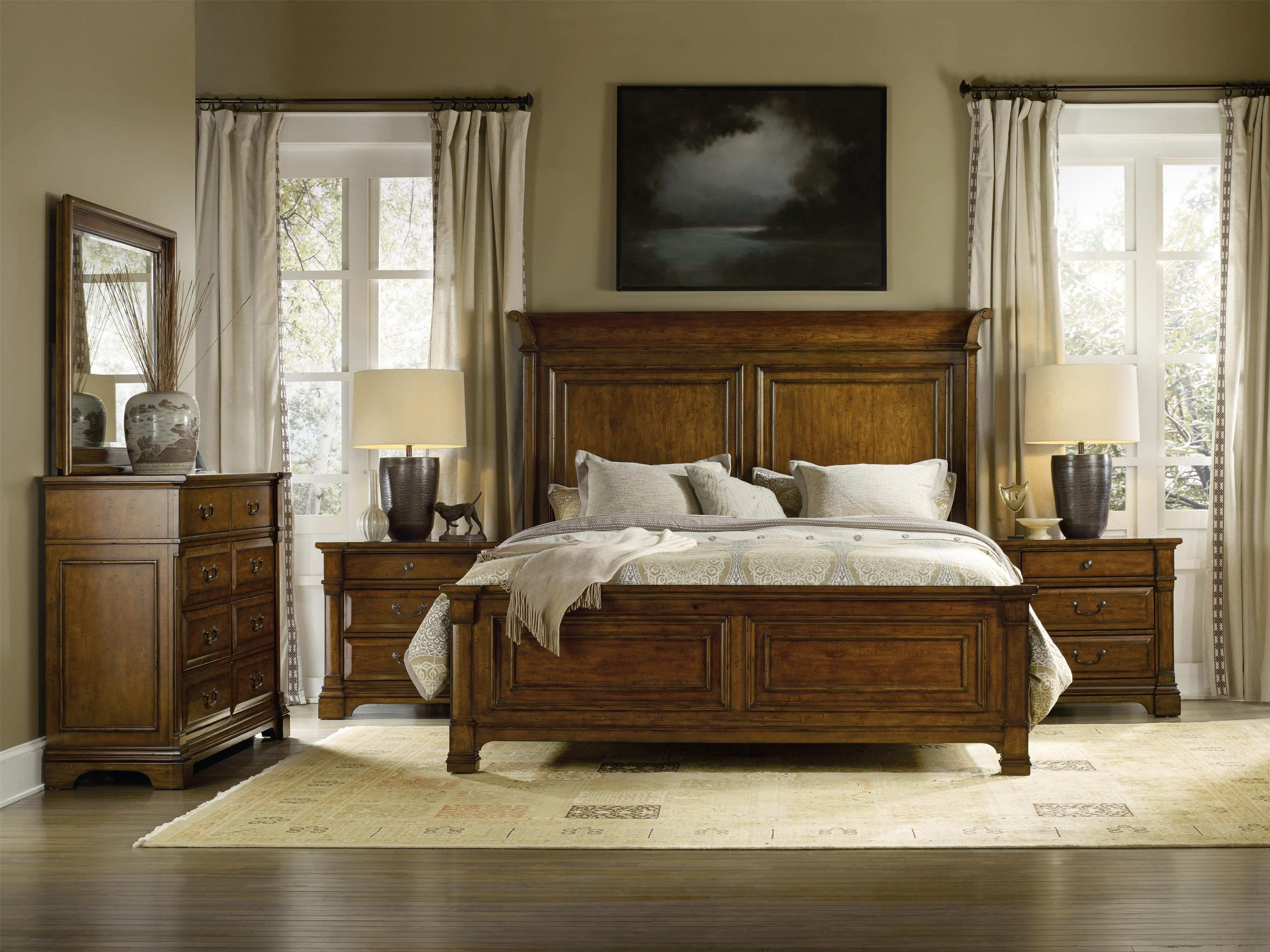 Tynecastle King Panel Bedroom Group by Hooker Furniture Furniture
