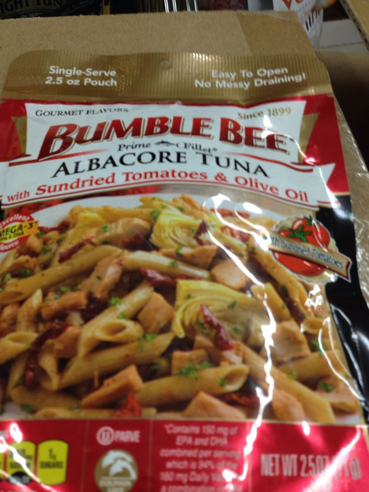 http://m.bonanza.com/listings/Set-of-20-bumble-bee-albacore-tuna-with-sundried-tomato-olive-oil-2-5-oz-each/313396153