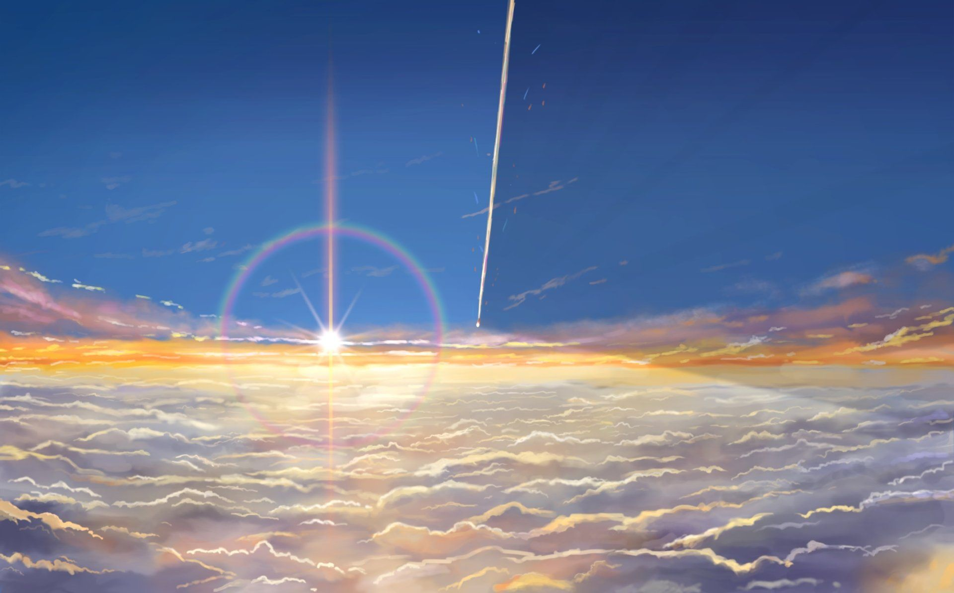 Anime Your Name Kimi No Na Wa Wallpaper Wallpaper Backgrounds Kimi No Na Wa Background Images Wallpapers