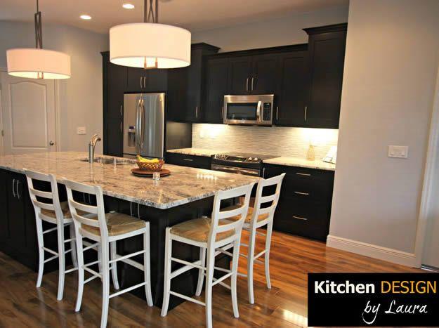 kitchen island with seating OGEE LAMINATE TYPHOON ICE - Google ...