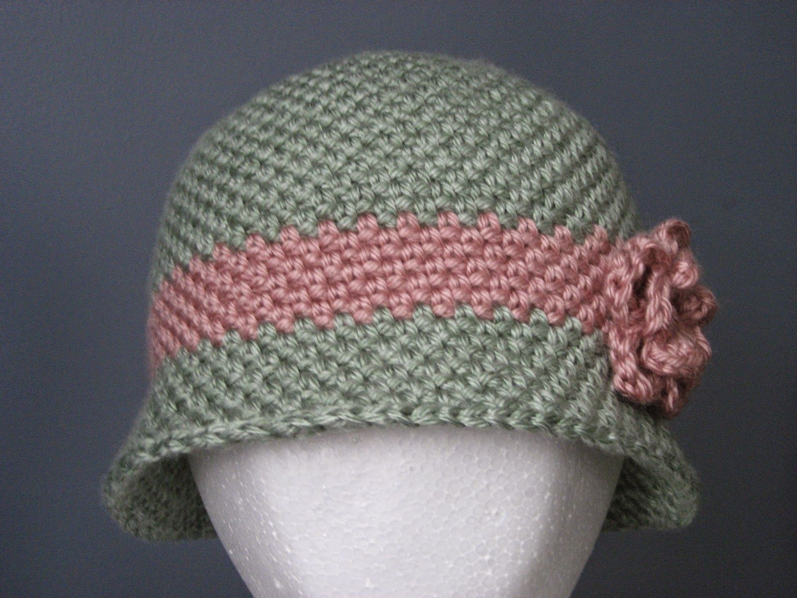 Yarning For Sanity A Timeless Hat Free Crochet Cloche Hat Pattern