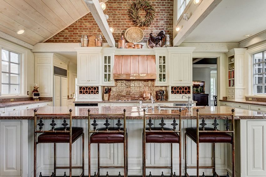 Decorating Ideas For Area Above Kitchen Cabinets (With ...