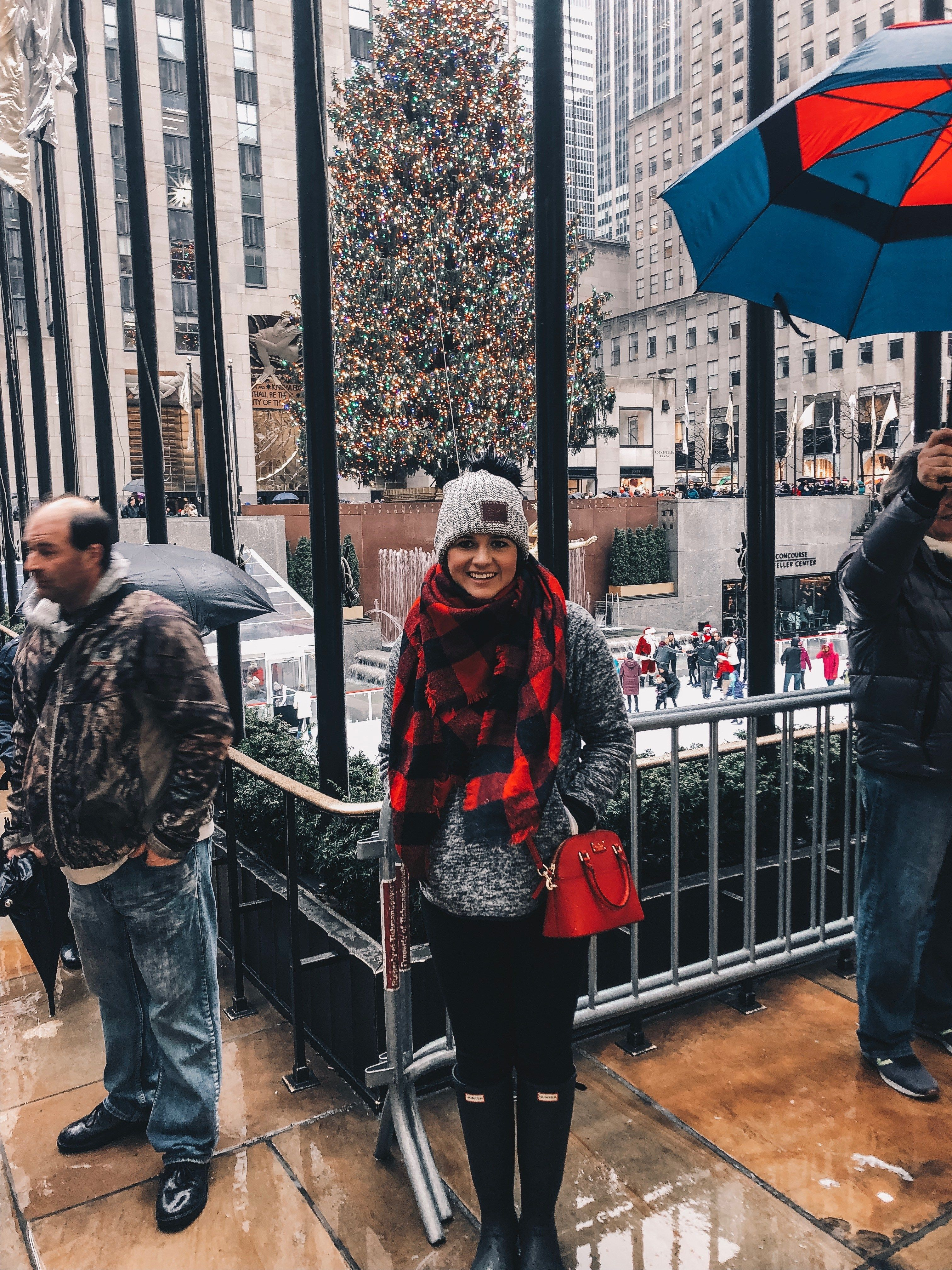 What To Do In NYC at Christmas Time   New york winter outfit, New york winter, Nyc christmas