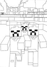 Here Are The Best Minecraft Zombie Coloring Pages Minecraft