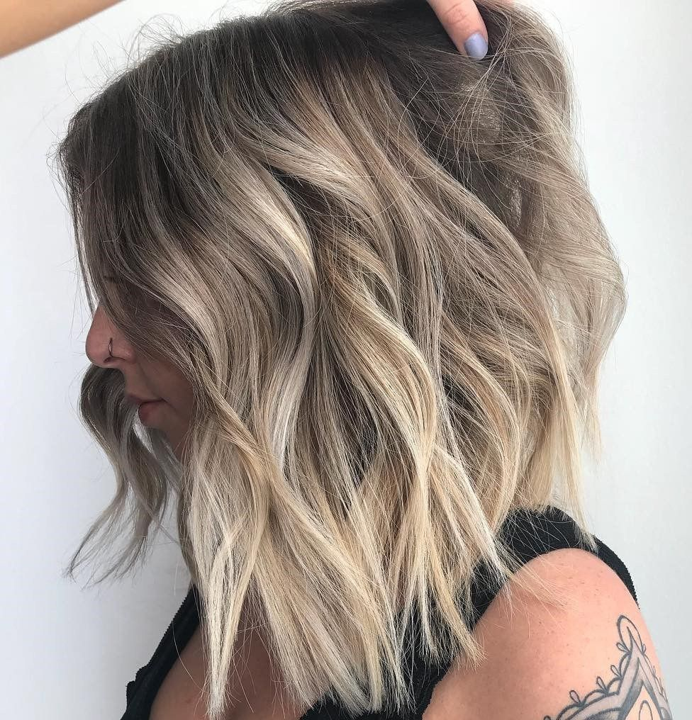 most beneficial haircuts for thick hair of any length lob hair