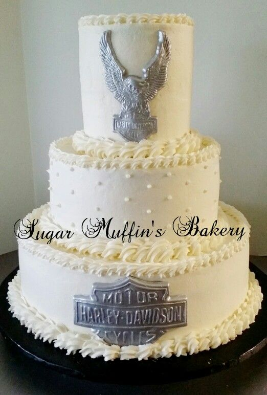 Harley Davidson Wedding Cake Of Long Branch Hdlongbranch