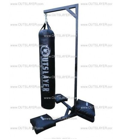 Outslayer Muay Thai Bag Stand 7 5 Ft Tall 350lbs Capasity