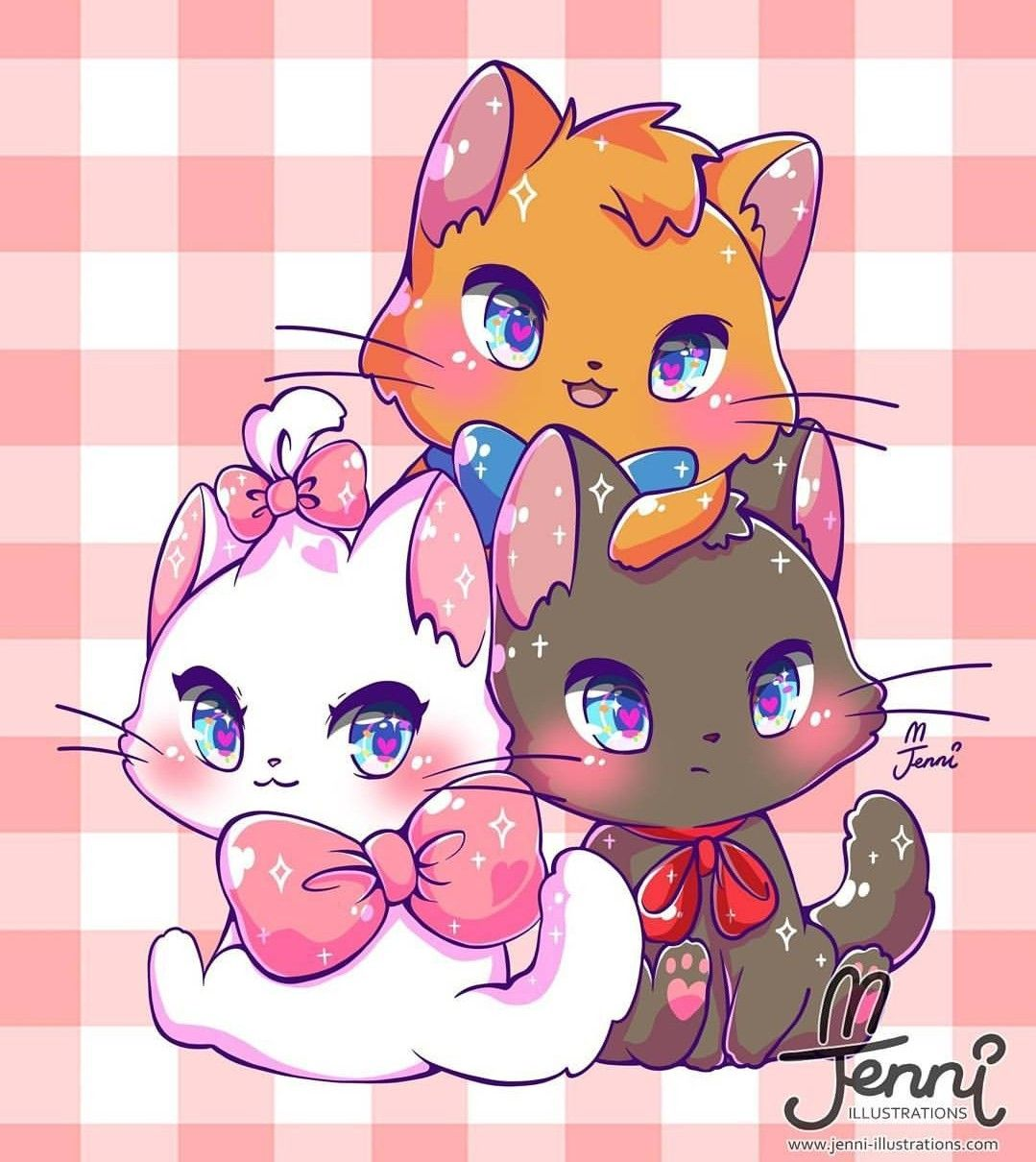 Pin by Lacey Mahan on Art Cute cat drawing, Kawaii chibi