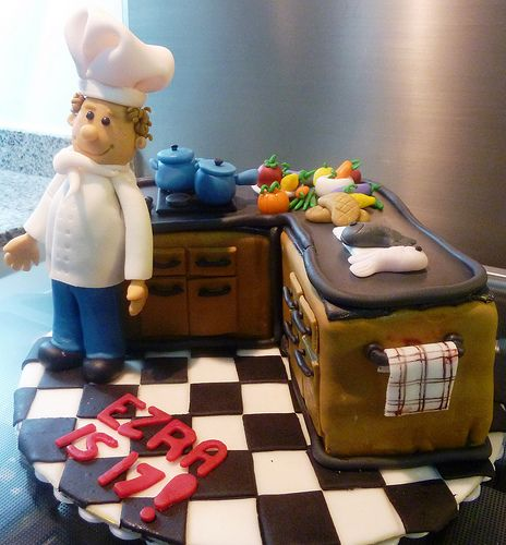 Kitchen Chef Theme Cakes Cupcakes Mumbai 14