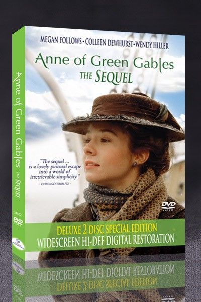 Anne Of Green Gables The Sequel Anne Of Avonlea Digitally