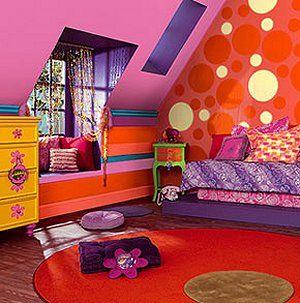 Rainbow Theme Bedrooms Rainbow Bedroom Decorating Ideas