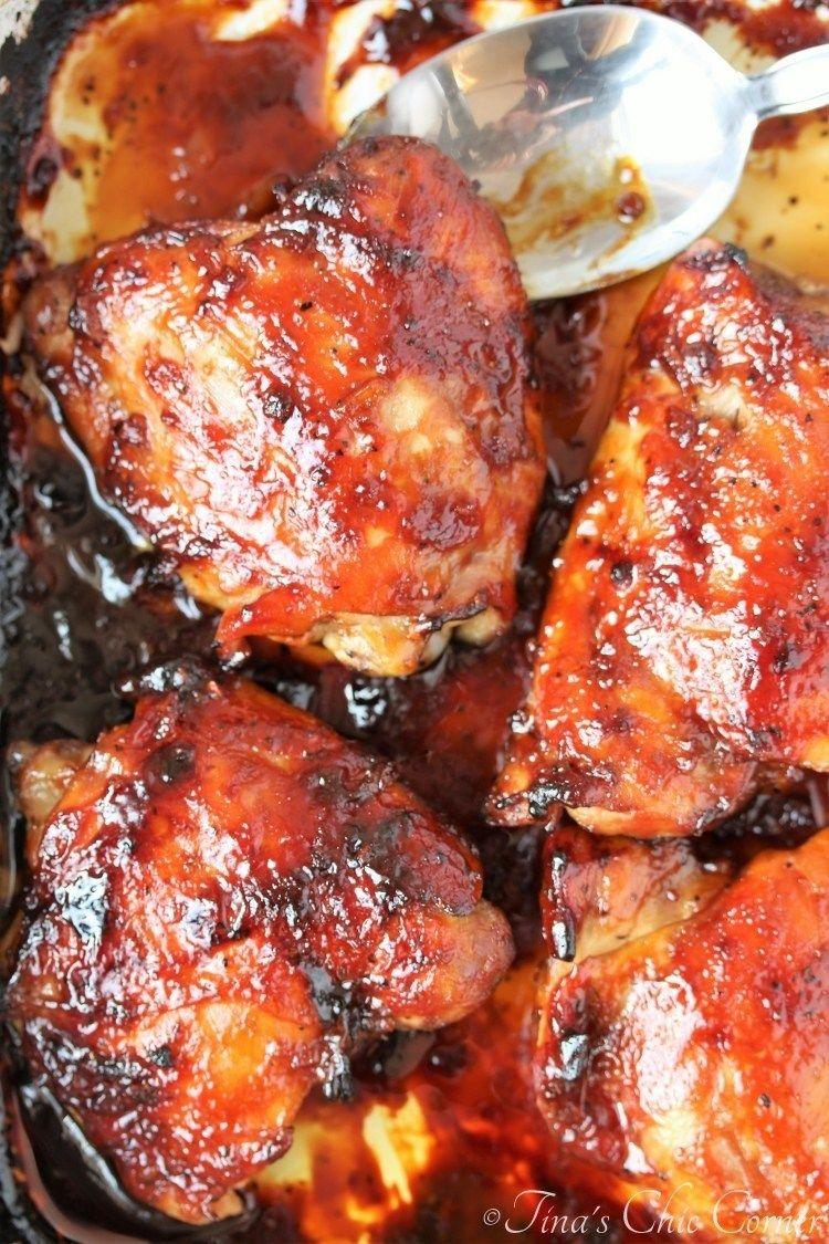 Baked Teriyaki Chicken Baked Teriyaki Chicken Chicken Teriyaki Recipe Teriyaki Recipe