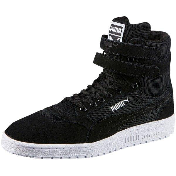 53d21ed370d6 Puma Sky II Hi Core Men s Sneakers ( 90) ❤ liked on Polyvore featuring men s