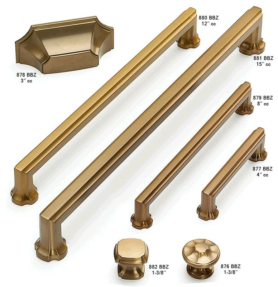 brushed bronze cabinet hardware - Google Search | Bathroom 1 ...