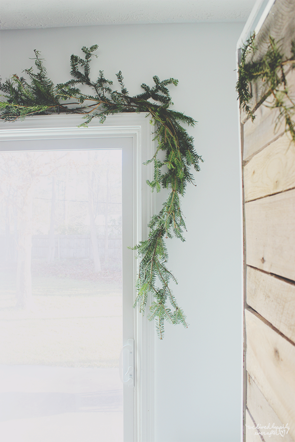 Diy Evergreen Christmas Tree Branch Garland If I Can T Find A Reindeer I Ll Make One Myself We Lived Happily Ever After Diy Christmas Garland Christmas Tree Trimming Christmas Diy