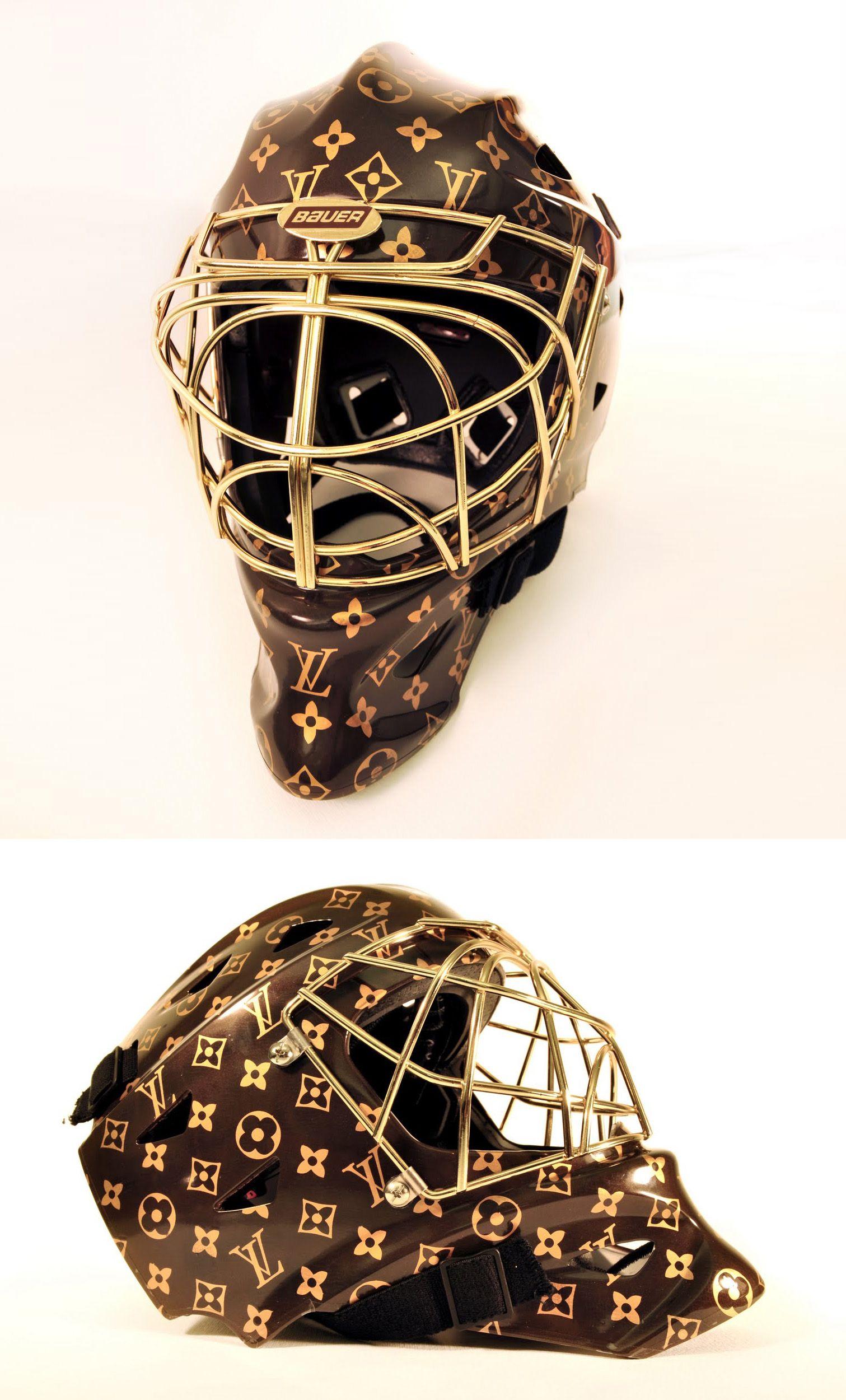 Rickett Louis Vuitton Hockey Helmet Hockey Helmet Goalie Mask Fencing Mask