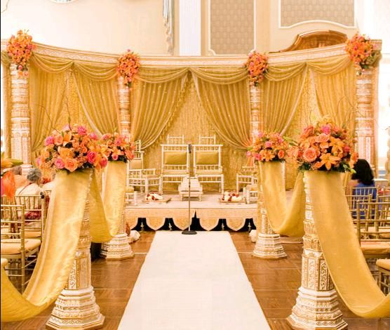 Beautiful Wedding Ceremony Decorations Indian Style Decor 300x253 Great Ideas