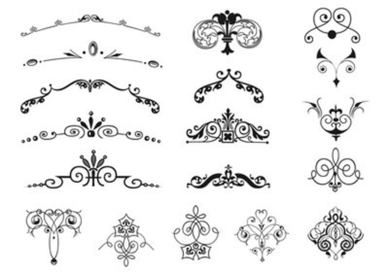 85 Free Vintage Vector Ornaments Free Vector Art At Vecteezy Vintage Borders Vintage Frames Vector Free Vector Art