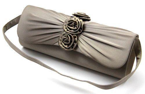 Elegante Satin Damen Handtasche - Clutch Handtasche ...