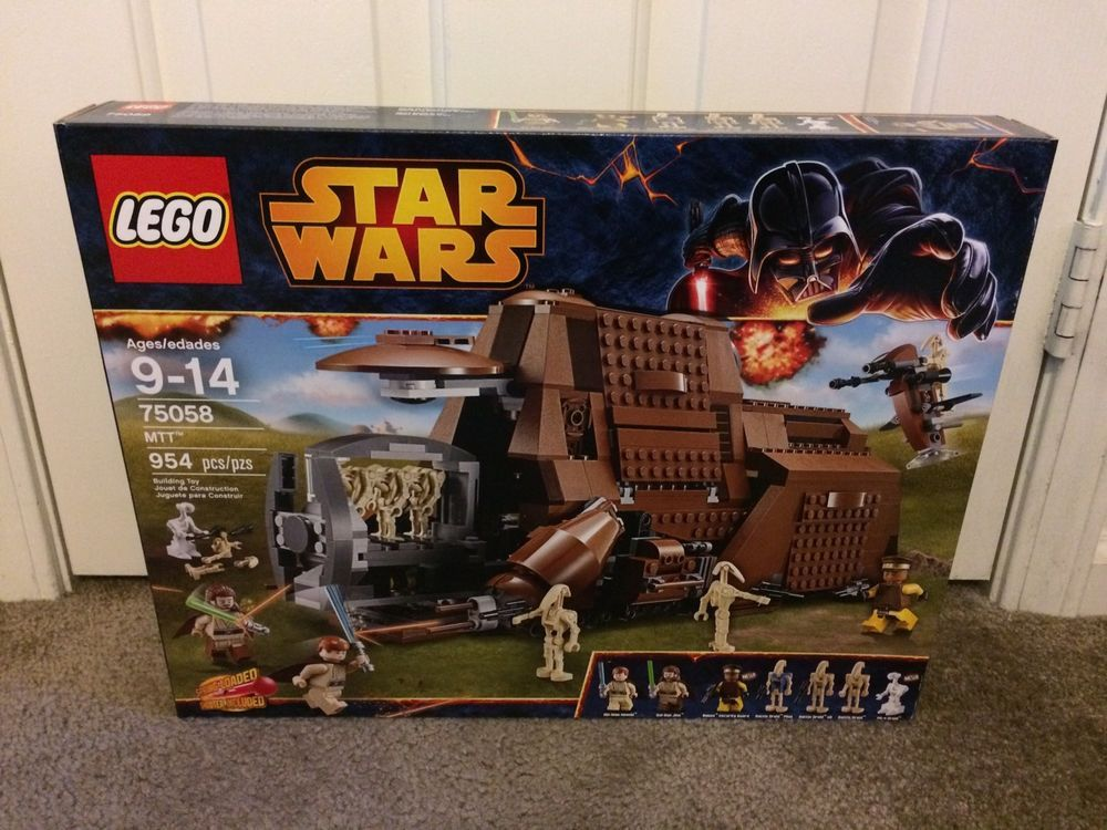 Details about LEGO Star Wars 75058 MTT Trade Federation