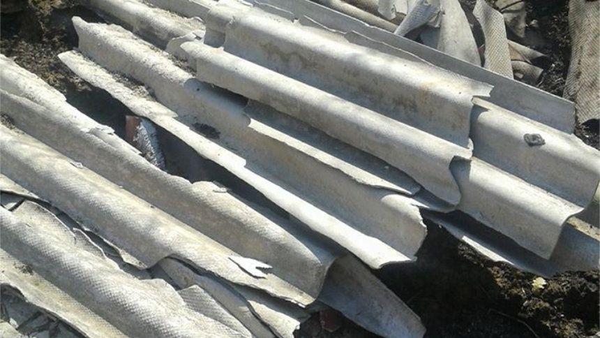 Rinvenute dalla Polizia Ambientale lastre di cemento-amianto (eternit) in zona Saverona a Cirò Marina - Il materiale abbandonato selvaggiamente rientra nella lista dei materiali pericolosi ad alto rischio di inquinamento  - http://www.ilcirotano.it/2017/08/11/rinvenute-dalla-polizia-ambientale-lastre-di-cemento-amianto-eternit-in-zona-saverona-a-ciro-marina/