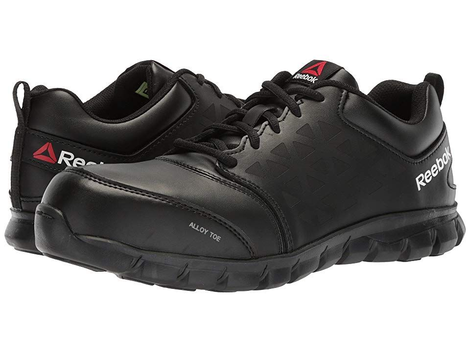 2f3150529f48 Reebok Work Sublite Cushion Work EH (Black Leather) Men s Work Boots. You  will