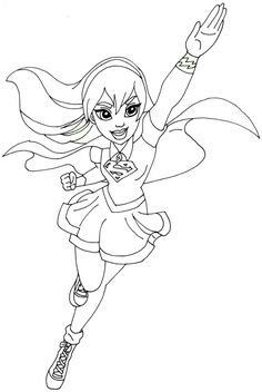 pindamien stanley on supergirl coloring pages  superhero coloring superhero coloring pages