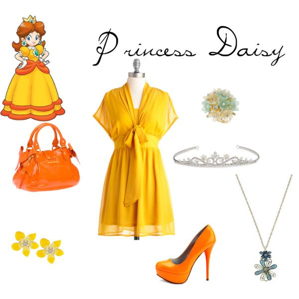 Princess Daisy, created by disneycouture5 on Polyvore | Geek ...