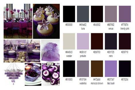 Purple & Brown Theme