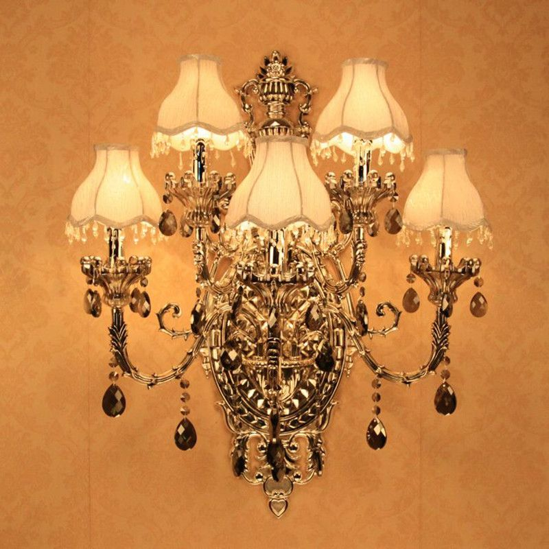 Find more wall lamps information about fashion crystal wall sconce find more wall lamps information about fashion crystal wall sconce lighting 5 candle wall light romantic aloadofball Gallery