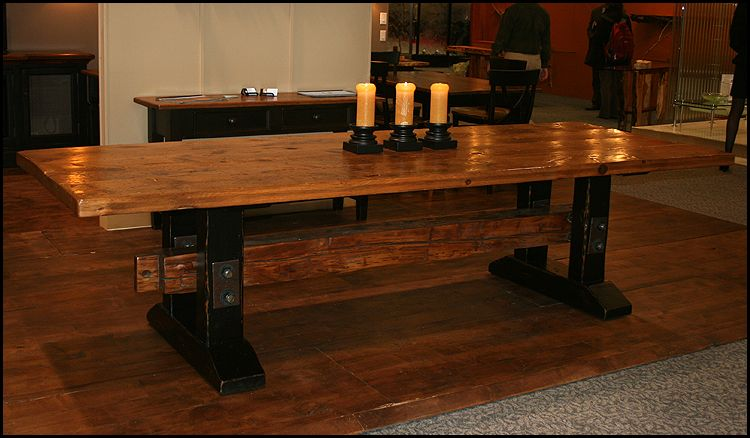 Charming The Urban Settler   Hand Crafted Solid Wood Furniture   Dining Tables And  Chairs   Custom Dining Tables   Reclaimed Wood Tables   Wide Plank Tables    Custom ...