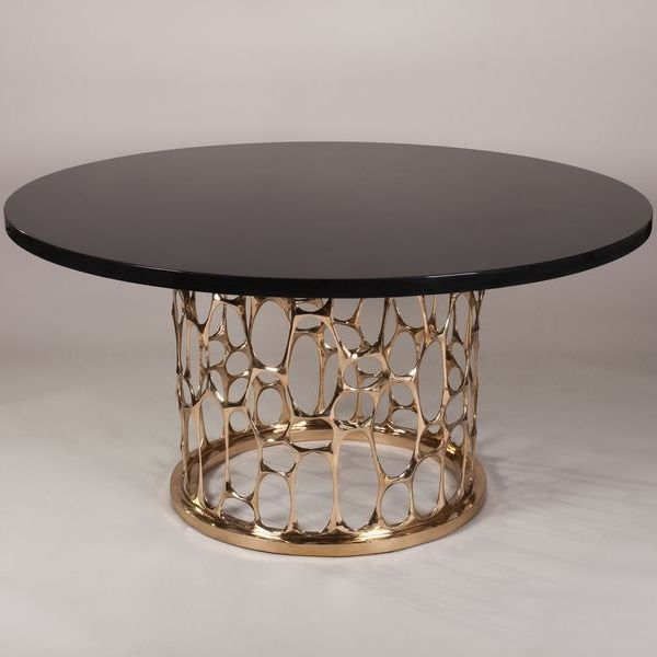Nick King Les Ateliers Courbet Bronze Dining Table Breakfast Round
