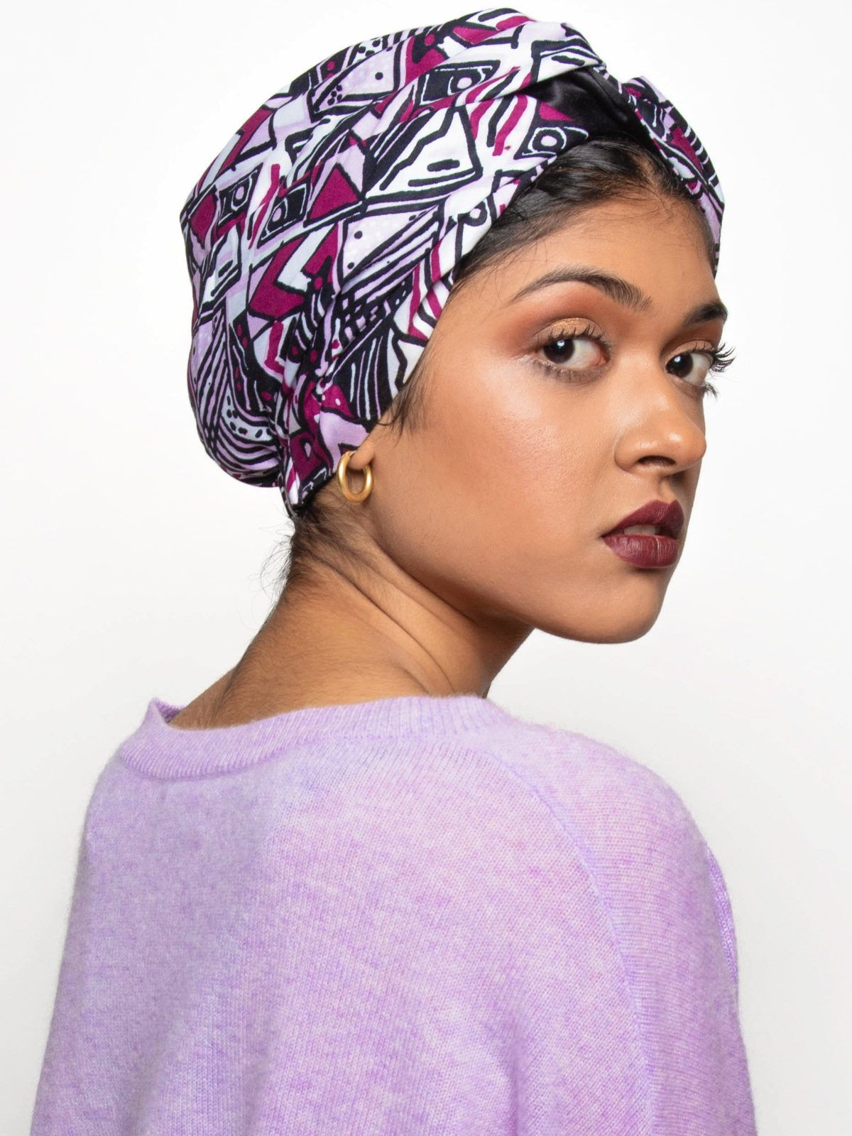 SatinLined Head Wraps & Turbans in 2019