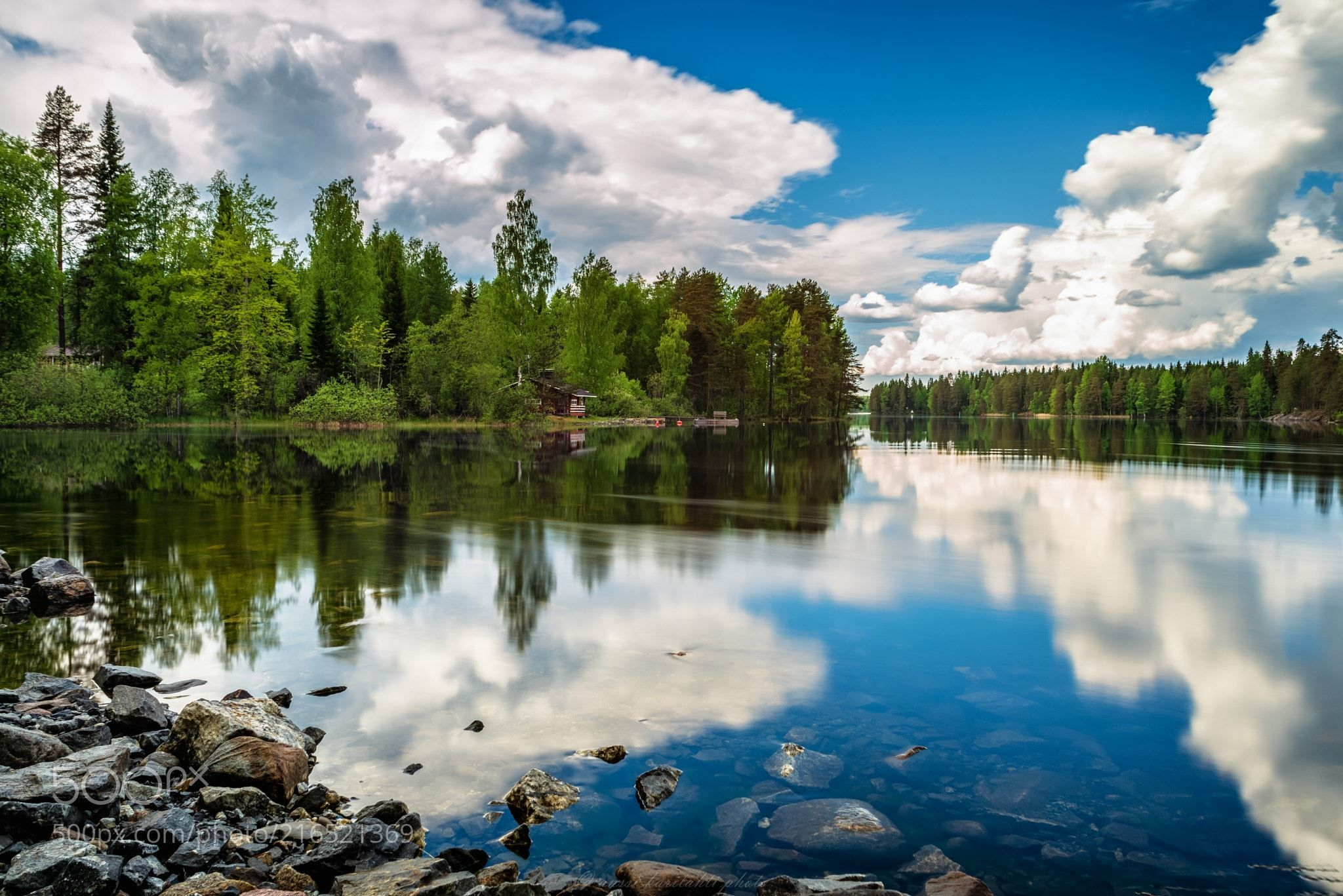 Summer Clouds (Anssi  karilahti / Heinävesi / Finland) #NIKON D600 #landscape #photo #nature